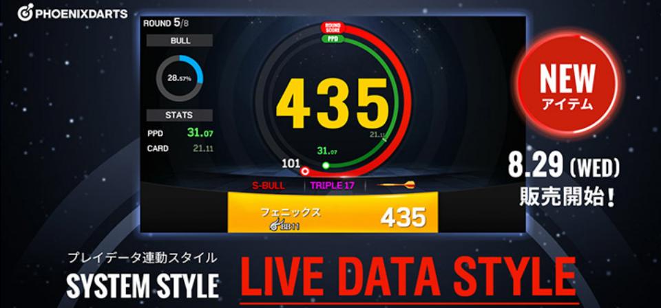 Live Data Darts
